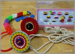 玩具の指輪